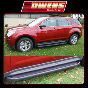 Custom Fit OE Factory Style Running Boards Chevy Equinox 2010 2012 Side Step Set