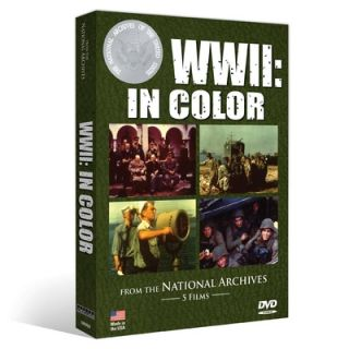 WWII in Color DVD Five Color World War II Films Director John Ford