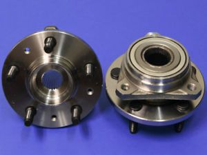 Pair Wheel Hub Bearing Front Ford Windstar 99 03 2WD