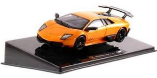 Hot Wheels Elite Lamborghini Murcielago Diecast 1 43 Scale Orange