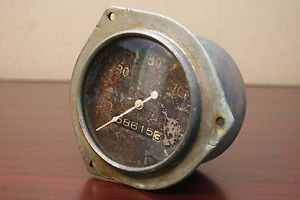 1930's Car Truck Stewart Warner Curved Glass Speedometer Gauge Ford AACA Scta