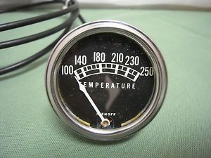 Vintage Stewart Warner Temperature Gauge 1932 Ford Flathead Hot Rod Water Temp