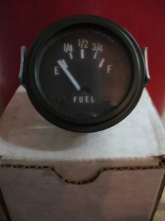 Military Gas Gauge Army Truck Jeep or Rat Rod OD Green Stewart Warner