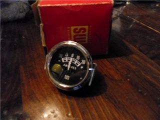 Vintage Stewart Warner Ammeter Gauge 30 Amps Hot Rod