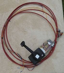 Morse Side Mount Engine Throttle Controls Shifter Cables Wiring Marine Boat