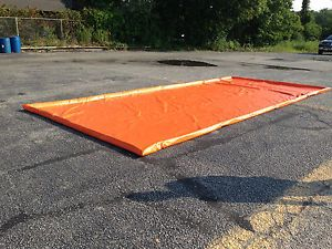 Wash Containment Mat for Mobile Car Truck Washing Large 24' x 10' Size