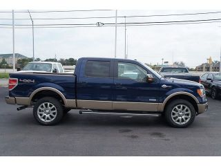 2012 Ford F150 King Ranch Ecoboost Sony Navigation Power Moonroof