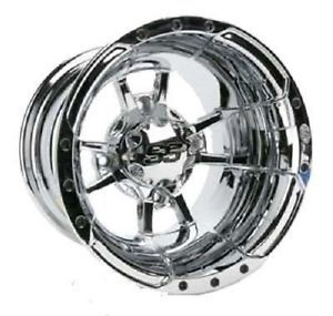 ITP 10 x 7 SS112 Chrome Golf Cart Car Rim Wheel New