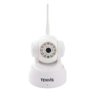 Tenvis JPT3815W IR Wirelss WiFi Security IP Camera Webcam 5dB White