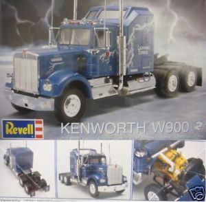 Kenworth W900 Semi Truck 1 25 Revell Model 851507