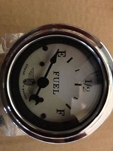 Stewart Warner Wings Fuel Gauge and Sender