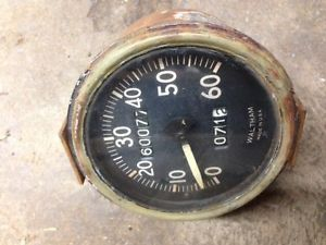 GPW Waltham Speedometer Willys MB Military Jeep Stewart Warner Gauge