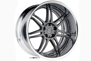 "19"" Nissan 370Z Avant Garde Work Wheels M560 19x11 VIP Staggered Rims Wheels"