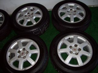 "16"" Factory Cadillac cts Wheels with Yokohama Tires Silver 17 18 19"
