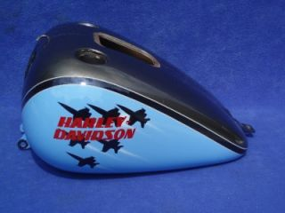 Harley Softail Fatboy Paint Set Fender Tank Air Force