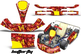 KG Kid Baby AMR Racing Graphics Evrr Mini Krypton Sticker Kits Max Decals Bfly R