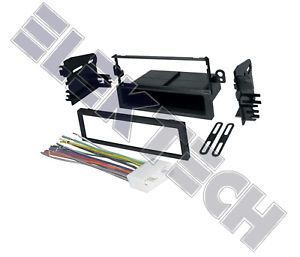 Chevy Aveo Radio Stereo Dash Mounting Kit w Harness