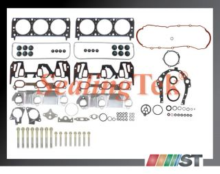 99 03 GM 3100 3 1 189 V6 Vin J Full Gasket Set w Bolts Engine Cylinder Parts