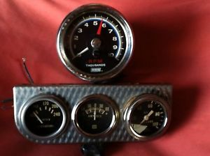 Vintage Dixco Tach and Stewart Warner Gauges and Other Lot Rat Rod Gasser