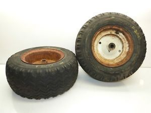 Ford 100 Tractor Firestone 16x6 50 8 Front Tires Rims