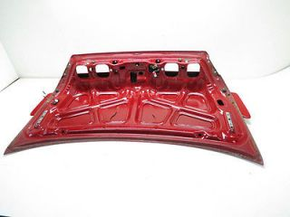 Honda Accord Coupe 98 02 Rear Trunk Deck Lid w Spoiler Red 68500 S82 A91 A312