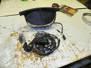 Harley Touring Softail Dyna Windshield Mount Boom Audio System New