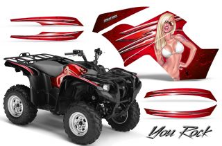 Yamaha Grizzly 700 550 Graphics Kit Creatorx Decals Stickers YRR