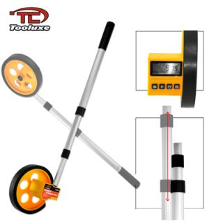10 000 ft LCD Digital Rolling Tape Measuring Wheel Tool Contractor Field New