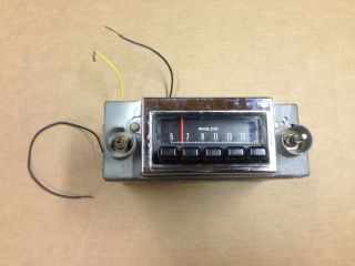 1969 Ford Am Radio 69 Philco Mustang Cougar Torino Shelby