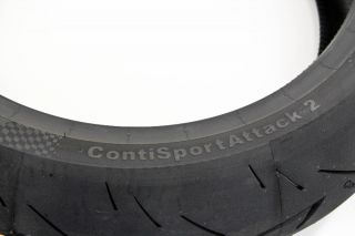 Continental Conti Sport Attack 2 Rear Tire 180 55ZR 17 TL 73W