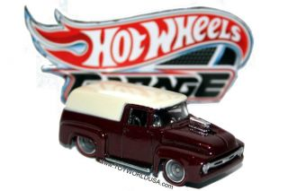 2011 Hot Wheels Garage 4 '56 Ford Panel Truck