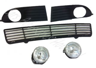 Dodge Journey Bumper Lower Grill Fog Lights Fog Light Covers New 2008 2010