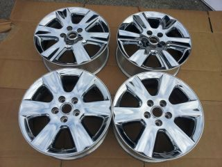 Genuine Original 2009 2010 Factory Dodge Journey 19 inch Chrome Wheels Wheel