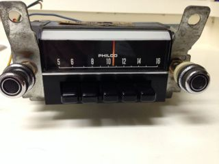 Original 1969 Ford Mustang Vintage Am Car Radio Model Part C9ZA 18806