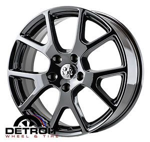 Dodge Journey PVD Black Chrome Wheels Factory Rim 2422 Exchange 2011 2014