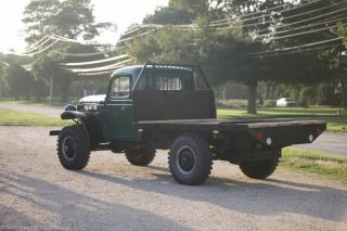 1961 Dodge Power Wagon $20 000 in Restoration 251 Motor and Cowl Lights