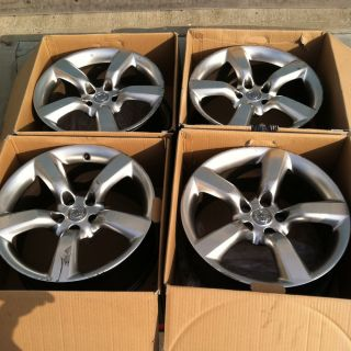 4 Nissan 350Z Factory 18 Wheels Rims Silver 5x114 5x4 5