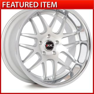 XXR 526 18x9 18x10 5 5x114 3 Machined Silver Staggered Wheels Rim 350Z G35 370Z