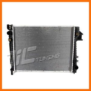 Dodge RAM 1500 3 7 V6 4 7 V8 02 03 Aluminum Radiator SOHC Engine Pickup Truck MT