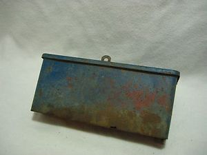 Vintage Original Ford 8N Tractor Under Hood Toolbox Tool Box