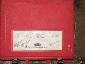 Rotunda Ford Specialty Tools Set Tkit 2000 F FM FLM