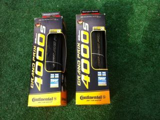 Continental GP 4000 s 700x23c Tire Set
