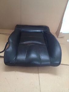 2003 2006 Nissan 350Z 350 Z Black Leather Driver Seat Cushion