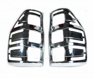 Chrome Tail Light Cover Trim All New Ford Ranger 2012