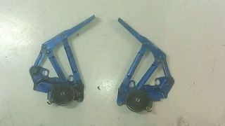 Dodge RAM 1500 2500 3500 Hood Hinges Blue 1994 95 96 97 98 99 00 01 02