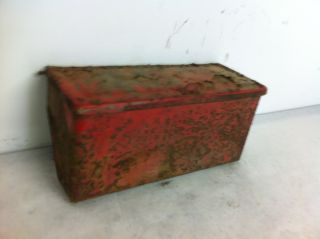 Ford 8N Tractor Original Tool Box