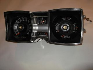 67 Dodge Monaco Polara Instrument Cluster Gauges Panel Dash Clock 1967 1965 65