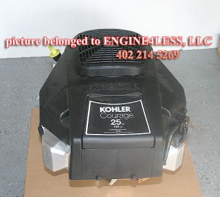 "Kohler Courage PA SV730S 3043 PA SV730 3043 25HP 25 HP 1""Dia Lawn Mower Engine"