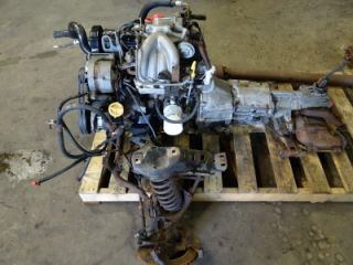 1984 Ford Mustang SVO 4 Cylinder Turbo Charged Engine and Transmission Combo