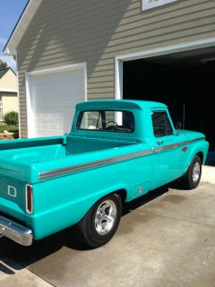 1966 Ford Custom Cab F100 Short Bed with RARE Factory Tool Box Low Miles 3rd Own